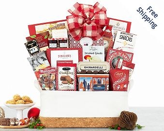 The Crowd Pleaser Gourmet Basket FREE SHIPPING