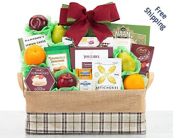 Wholesome Harvest Fruit Selection Gift Basket FREE SHIPPING