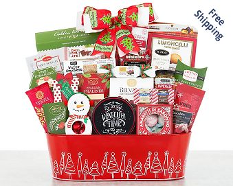 Home for the Holidays Gift Basket FREE SHIPPING
