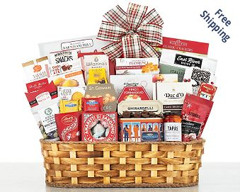 Grand Gourmet Gift Basket FREE SHIPPING