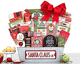 Suggestion - Santa Claus Lane Gift Basket