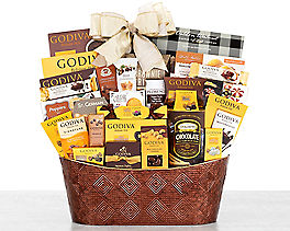Suggestion - Godiva Sheer Indulgence Chocolate Gift Basket