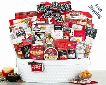 The Celebrator Gourmet Gift Basket FREE SHIPPING