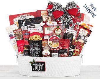 The Celebrator Gourmet Gift Basket FREE SHIPPING