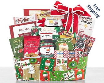 Winter Welcome Gift Basket FREE SHIPPING