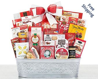 Party Pick Gourmet Gift Basket FREE SHIPPING
