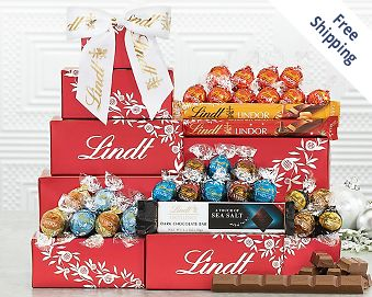 Lindt Chocolate Tower FREE SHIPPING