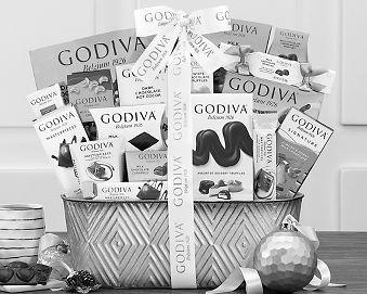Godiva Pure Decadence Chocolate Gift Basket