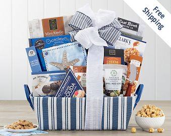 The Newporter Gourmet Gift Basket FREE SHIPPING