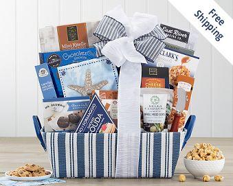 The Newporter Gourmet Gift Basket Gift Basket  Free Shipping