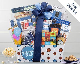 Thank You Gourmet Gift Basket Gift Basket  Free Shipping