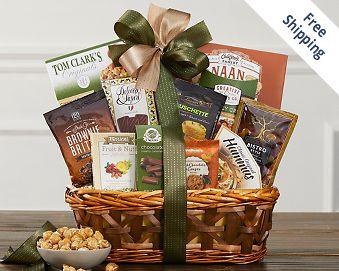 Gourmet Gift Basket FREE SHIPPING