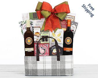 Val Serena Italian Wine Gift Basket FREE SHIPPING