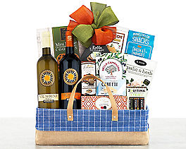Suggestion - Val Serena Italian Wine Gift Basket