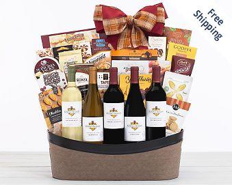 Kendall-Jackson Vintner's Reserve Wine Basket FREE SHIPPING