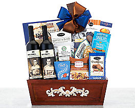 Suggestion - 19 Crimes Wine Collection Gift Basket