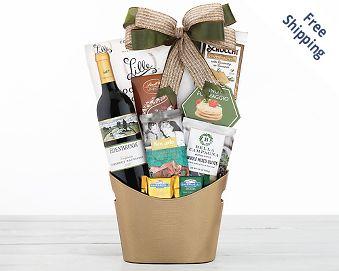 Crossridge Peak Cabernet Wine Gift Basket FREE SHIPPING