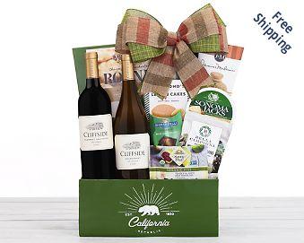 Hobson Estate Duet Wine Basket FREE SHIPPING