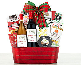 Suggestion - Little Lakes Cellars Holiday Tidings Wine Basket