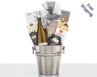 Sterling Vintner's Collection Prosecco Gift Basket FREE SHIPPING