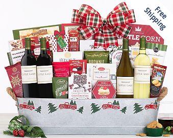 Hobson Estate Wine Basket FREE SHIPPING