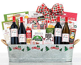 Suggestion - Steeplechase Vineyards Wine Basket