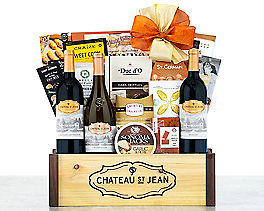 Suggestion - Chateau Saint Jean California Gift Basket