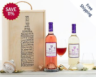 Windwhistle Moscato Cheers Gift Box FREE SHIPPING 11% Save Original Price is $ 65