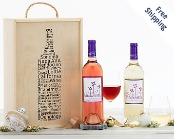 Windwhistle Moscato Duet Gift Box FREE SHIPPING