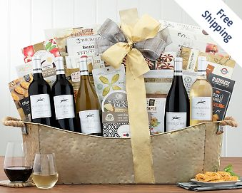 Steeplechase Tasting Room Collection Wine Basket FREE SHIPPING