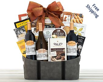 Chateau St. Jean Gift Basket FREE SHIPPING