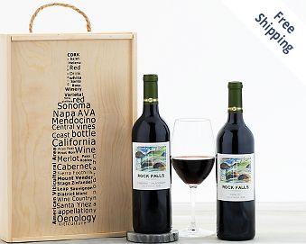 Rock Falls Vineyards Red Wine Duet FREE SHIPPING