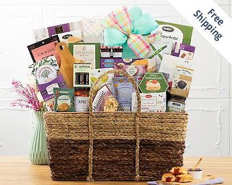 Mother's Day Wine Country Picnic Gift Basket FREE SHIPPING