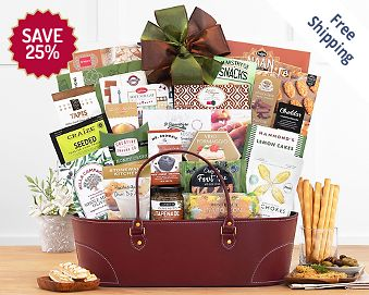 The Classic Gourmet Gift Basket FREE SHIPPING 25% Save Original Price is $ 100