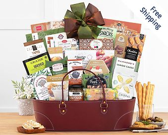 The Classic Gourmet Gift Basket FREE SHIPPING