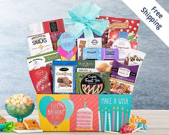 Happy Birthday Gift Basket FREE SHIPPING