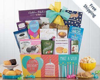 Happy Birthday Gift Basket FREE SHIPPING