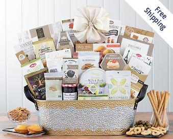Many Thanks Gift Basket FREE SHIPPING
