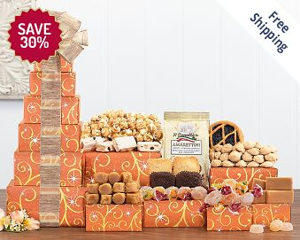 Chocolate & Sweets Tower - Featuring Godiva FREE SHIPPING 30% Save Original Price is $ 50