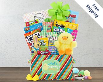 Happy Easter Gift Basket FREE SHIPPING