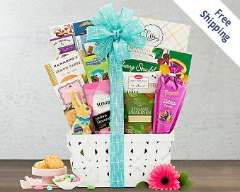 Easter's on its Way Gift Basket FREE SHIPPING
