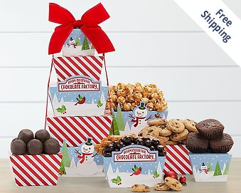Rocky Mountain Chocolate Factory Tower FREE SHIPPING