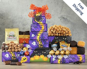 Godiva, Ghirardelli and Lindt Halloween Tower FREE SHIPPING