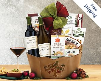 Blakemore Winery Double Delight Wine Basket FREE SHIPPING