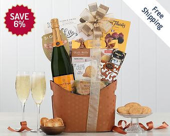 Veuve Clicquot Wine Basket FREE SHIPPING 6% Save Original Price is $ 175